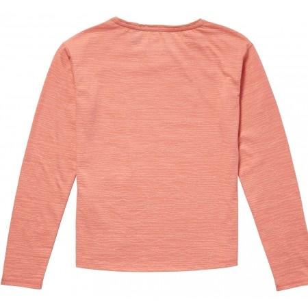 Dívčí triko s dlouhým rukávem