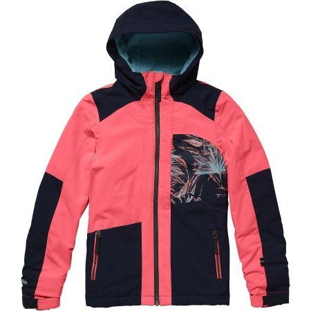 Dívčí lyžařská/snowboardová bunda